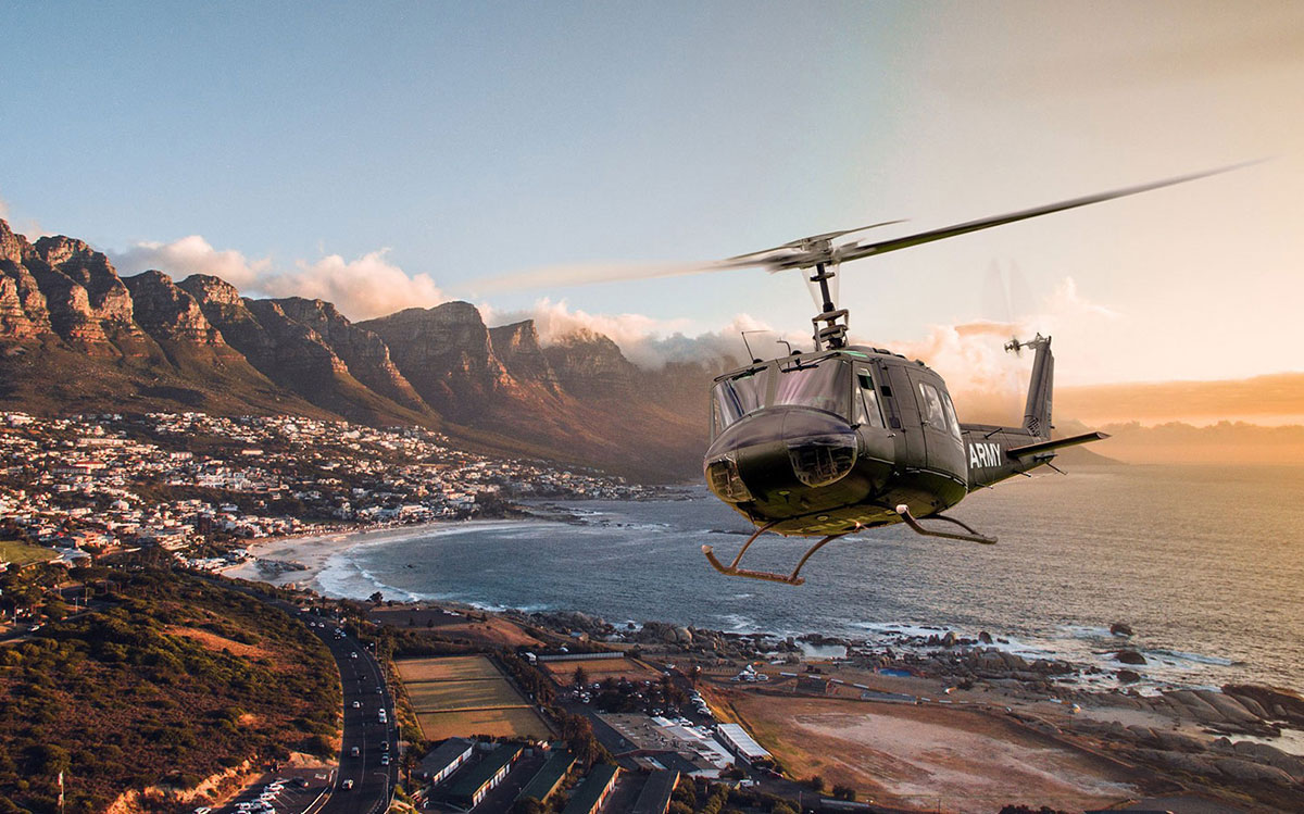 Helicopter Tours in South Africa