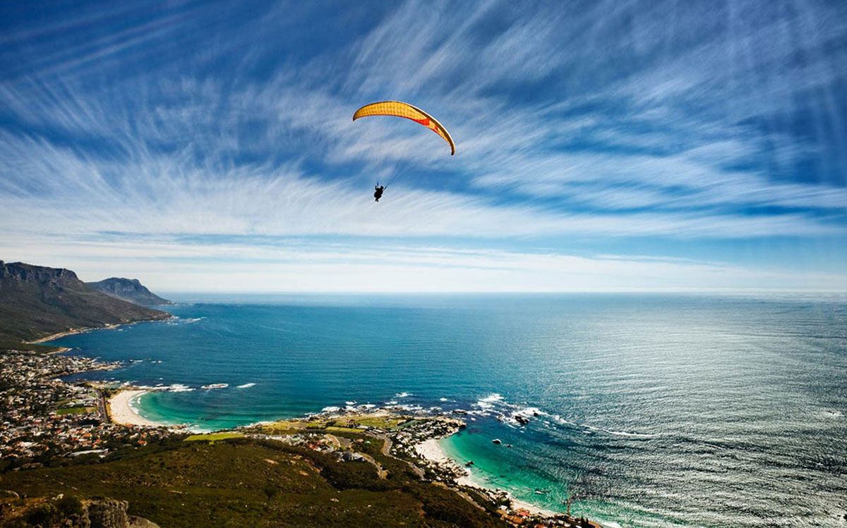 Paragliding Tours in South Africa